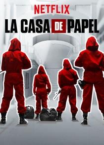 La Casa de Papel (Parte 1) - Poster / Capa / Cartaz - Oficial 2
