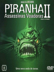 Piranha 2 - Assassinas Voadoras - Poster / Capa / Cartaz - Oficial 3