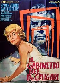 A Mansão do Dr. Caligari - Poster / Capa / Cartaz - Oficial 3