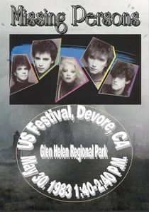 Missing Persons - US Festival - Poster / Capa / Cartaz - Oficial 1