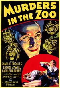 Murders in the Zoo - Poster / Capa / Cartaz - Oficial 1
