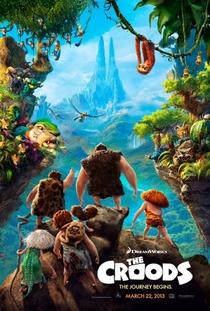 Os Croods - Poster / Capa / Cartaz - Oficial 2