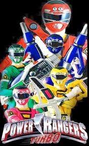 Power Rangers Turbo - Poster / Capa / Cartaz - Oficial 1