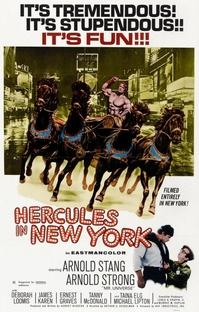 Hércules em Nova York - Poster / Capa / Cartaz - Oficial 1