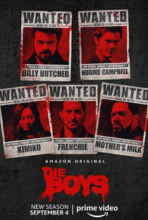 The Boys (2ª Temporada) - Poster / Capa / Cartaz - Oficial 3