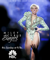 Miley Cyrus: The Bangerz Tour - Poster / Capa / Cartaz - Oficial 1