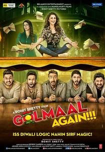 Golmaal Again - Poster / Capa / Cartaz - Oficial 1