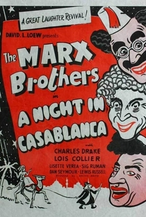 Uma Noite em Casablanca - Poster / Capa / Cartaz - Oficial 7