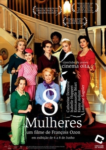 8 Mulheres - Poster / Capa / Cartaz - Oficial 1