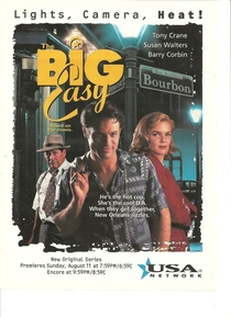 The Big Easy - Poster / Capa / Cartaz - Oficial 2