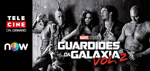 Guardiões da Galáxia Vol. 2 | Assista em casa ao filme dos heróis queridinhos da Marvel