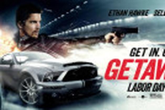 """Selena Gomez e Ethan Hawke nos bastidores de """"Getaway"""""""