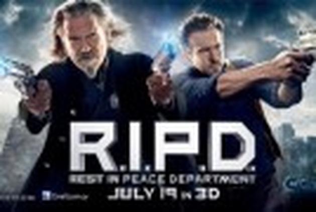 """Veja novo Spot de TV de """"R.I.P.D."""", estrelando Ryan Reynolds e Jeff Bridges"""