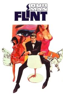 Flint Contra o Gênio do Mal - Poster / Capa / Cartaz - Oficial 2
