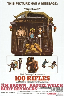 100 rifles - Poster / Capa / Cartaz - Oficial 4