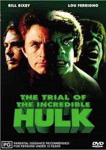 O Julgamento do Incrível Hulk - Poster / Capa / Cartaz - Oficial 2