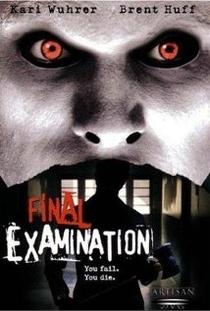 Final Examination - Poster / Capa / Cartaz - Oficial 1