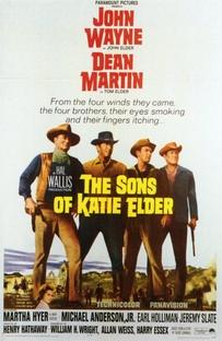 Os Filhos de Katie Elder - Poster / Capa / Cartaz - Oficial 1