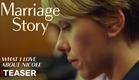 História de um Casamento | Teaser (O que eu amo na Nicole) | Netflix