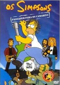 Os Simpsons - Passagem para os Camarins - Poster / Capa / Cartaz - Oficial 1