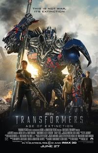 Transformers: A Era da Extinção - Poster / Capa / Cartaz - Oficial 2