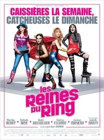 As Rainhas do Ringue - Poster / Capa / Cartaz - Oficial 1
