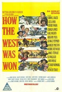 A Conquista do Oeste - Poster / Capa / Cartaz - Oficial 3