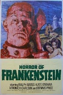 O horror de Frankenstein - Poster / Capa / Cartaz - Oficial 1