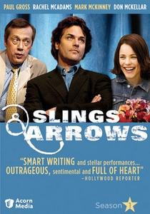 Slings and Arrows (1ª Temporada) - Poster / Capa / Cartaz - Oficial 1