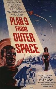 Plano 9 do Espaço Sideral - Poster / Capa / Cartaz - Oficial 1