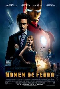 Homem de Ferro - Poster / Capa / Cartaz - Oficial 1