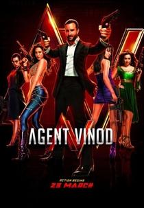 Agent Vinod - Poster / Capa / Cartaz - Oficial 2