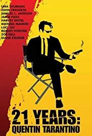 21 Years: Quentin Tarantino - Poster / Capa / Cartaz - Oficial 1