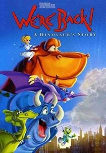Os Dinossauros Voltaram - Poster / Capa / Cartaz - Oficial 3