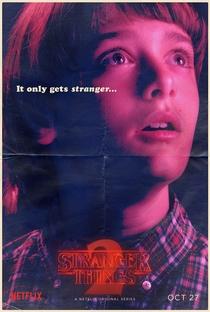 Stranger Things (2ª Temporada) - Poster / Capa / Cartaz - Oficial 6