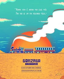 Gonzaga - De Pai pra Filho - Poster / Capa / Cartaz - Oficial 3