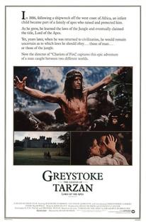 Greystoke - A Lenda de Tarzan, O Rei da Selva - Poster / Capa / Cartaz - Oficial 2