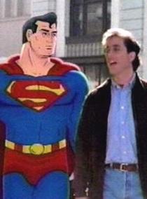 As Aventuras de Seinfeld & Superman - Poster / Capa / Cartaz - Oficial 1