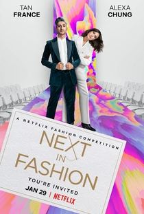 Next In Fashion (1ª Temporada) - Poster / Capa / Cartaz - Oficial 1