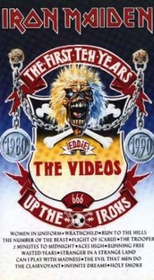 Iron Maiden The First Ten Years: The Videos - Poster / Capa / Cartaz - Oficial 1