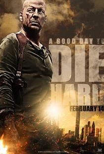 Duro de Matar: Um Bom Dia para Morrer - Poster / Capa / Cartaz - Oficial 1