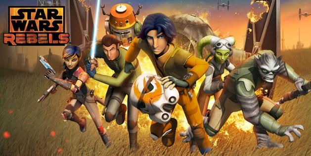 Star Wars Rebels: 1ª temporada está disponível pra quem quiser assisti-la online
