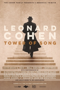 Tower of Song: A Memorial Tribute to Leonard Cohen - Poster / Capa / Cartaz - Oficial 1