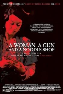 Uma Mulher, Uma Arma e Uma Loja de Macarrão - Poster / Capa / Cartaz - Oficial 1