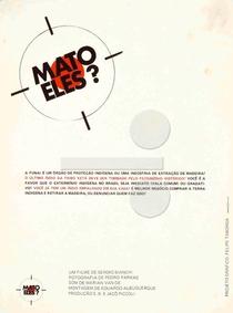 Mato Eles? - Poster / Capa / Cartaz - Oficial 2