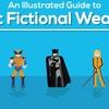 Infográfico analisa as armas mais fodonas da ficção