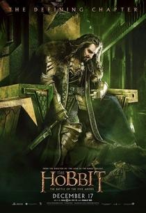 O Hobbit: A Batalha dos Cinco Exércitos - Poster / Capa / Cartaz - Oficial 13