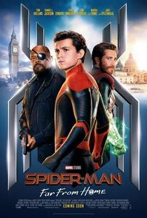 Homem-Aranha: Longe de Casa - Poster / Capa / Cartaz - Oficial 9
