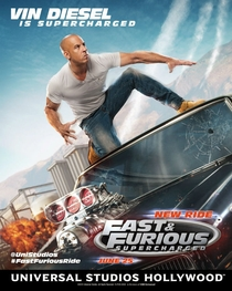 Fast & Furious: Supercharged - Poster / Capa / Cartaz - Oficial 1