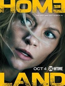 Homeland (5ª Temporada) - Poster / Capa / Cartaz - Oficial 1